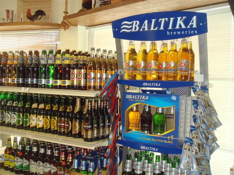 largest selection of domestic and imported beer, ales and ciders from all over Europe