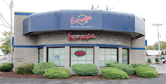 european food in Syracuse